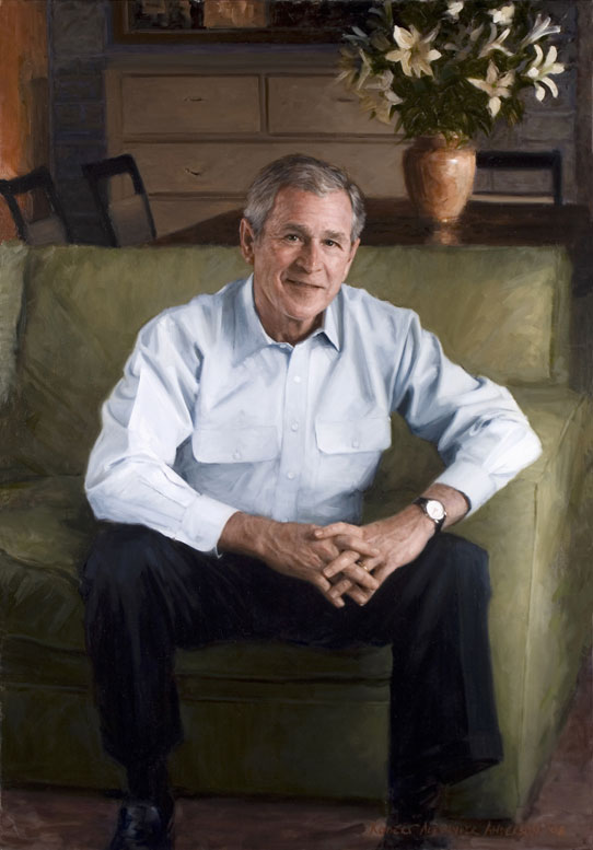 Anderson portrait of George W. Bush